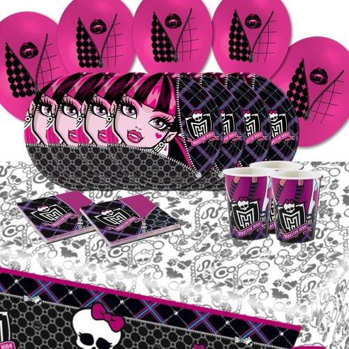 Kit de fête d'anniversaire Monster High pour 8