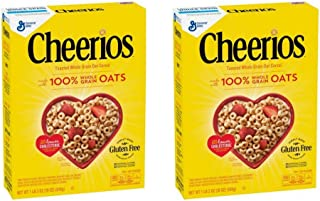 Cheerios Cereal, 18 oz (Pack of 2)