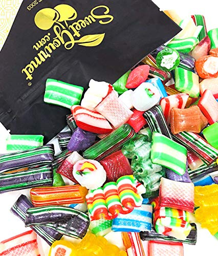 SweetGourmet Old Fashioned Christmas Mix Hard Candy | Seasonal Candies | 2 Pounds