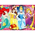 Ravensburger - Disney Princess Heartsong 60 Piece Glitter Jigsaw Puzzle for Kids – Every Piece is Unique by Ravensburger