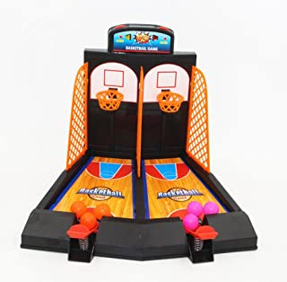 Avtion One or Two Player Desktop Basketball Game Best Classic Arcade Games Basket Ball Shootout Table Top Shooting Fun Act...