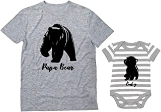 baby bear and papa bear