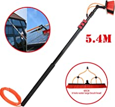 JSZMQD Telescopic Cleaning Rod, 3.6m-9m Washing Set Equipment Extension Pole Cleaning Suitable for Trucks Windows, Window ...