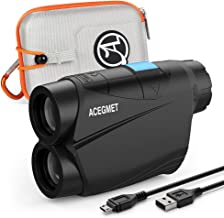 $82 » Acegmet Golf Rangefinder, 650 Yards Range Finder for Golfers, Golf Rangefinder with Slope, Flag Lock and Pulse Vibration, ...
