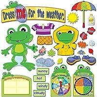 Funky Frog Weather Bulletin Board Set