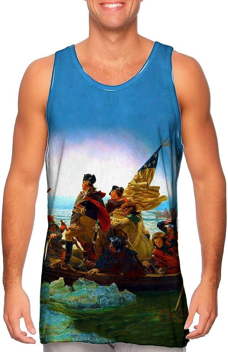 Yizzam- High order Emanuel Leutze - Washington Top Tank Regular store Cr.-Tshirt- Mens 21