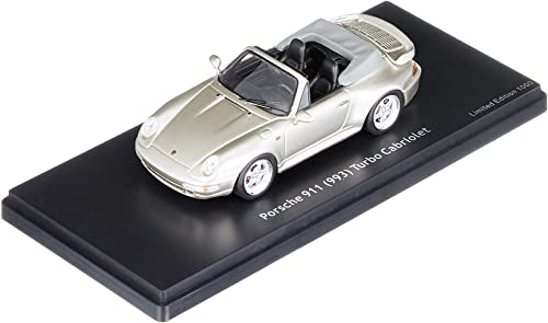 Schuco 450887900 Porsche 911 Cabrio 1 43, grau metallic, Ma ab