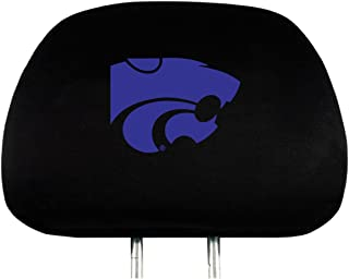 NCAA Kansas State Wildcats Head Rest Cover, 2-Pack