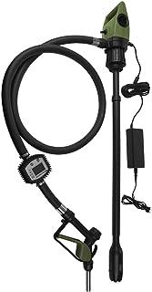 TERA PUMP - TReDRUMT-M Plug-in Electric 110V AC, Telescopic Suction, Turbine Meter for Engine Oil DEF Diesel Kerosene Hydraulic Fluid 7.1 GPM Transfer Pump | 55 Gal Drums to 275 Gal IBC Totes