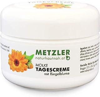 METZLER Molke Tagescreme - besonders nährstoffreiche Gesichtscreme mit Jojoba, Vitamin E und Extrakten der Ringelblume - UV-Filter schützt vor lichtbedingter Hautalterung, 200 ml