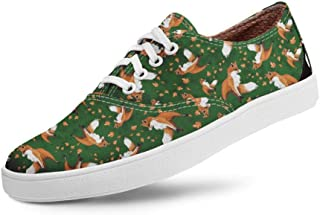 Tênis Usthemp Volare Vegano Casual Estampa Fox