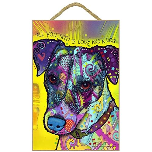 Jack Russell Dog Lover Present Shopping Tote Bag Ladies Gift