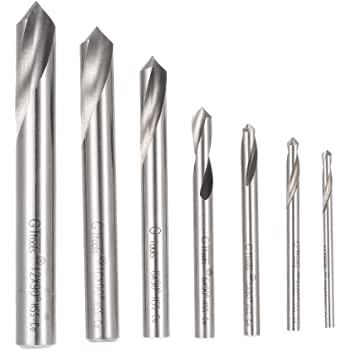 Carbide Uncoated 1.0000 LOC RedLine Tools .3750 .3750 3.0000 OAL 2 Flt 120/° Point Centering-Spotting Drill Dia Round Shank 3//8 3//8 Dia