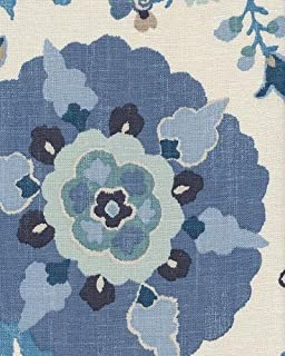 54'' Braemore Silsila Indian Sea Drapery Fabric & Upholstery Fabric By The Yard