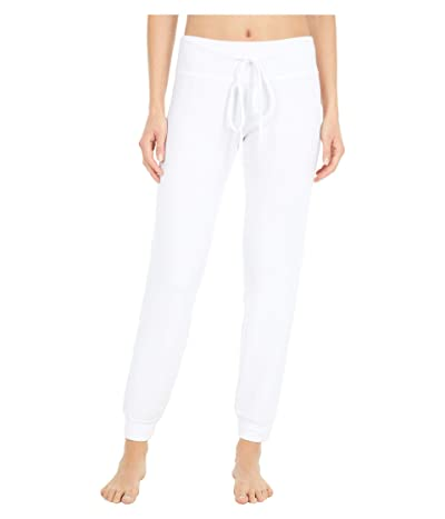 Beyond Yoga Lounge Around Jogger (White) Women