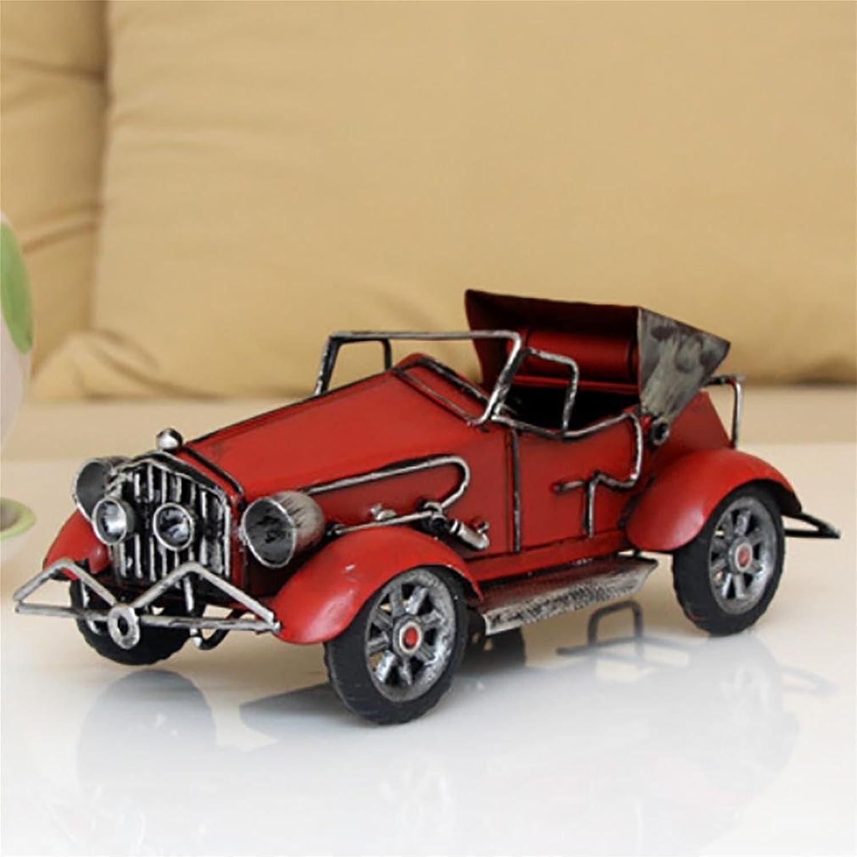 Klassisches Klassisches Auto-Modell Metall-Handwerk Handgemachtes Modell Kreative Geschenke (Nicht Arbeiten) 21cm10cm8cm 8.26 3.93 3.14  , A