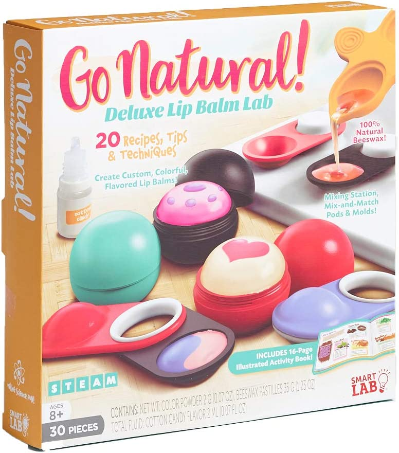 Smart Max 72% OFF Lab Toys New York Mall - Go Balm Deluxe Natural Lip Kit