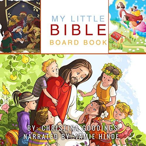My Little Bible Board Book audiobook cover art