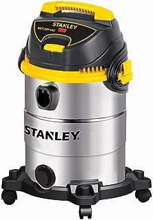 Stanley Wet/Dry Vacuum, 6 Gallon, 4.5 Horsepower, Stainless Steel Tank