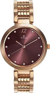 Titan Sparkle Purple Dial Analog Watch for Women - 2480WM02