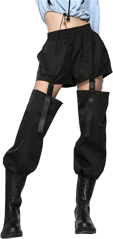 Arlita Women's Detachable Buckle Cargo Pants Jogger Casual Harem Cargo Sport Pants