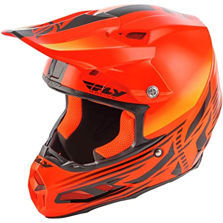 Fly Racing 2021 F2 Cold Weather Helmet with MIPS (X-Small) (HI-VIZ Orange)