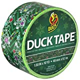 Duck Brand 283270 Printed Duct Tape, Bubble Trees Holiday, 1.88 Inches x 10 Yards, Single Roll