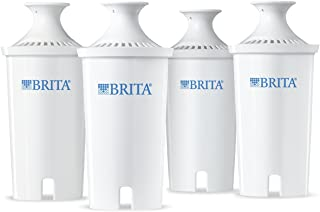 Brita 42432 Standard Water Filter, 4ct, White