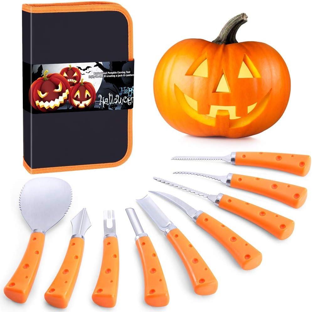 Pumpkin Award Carving Kit for Halloween service Adults Kids Jack-O-Lanterns