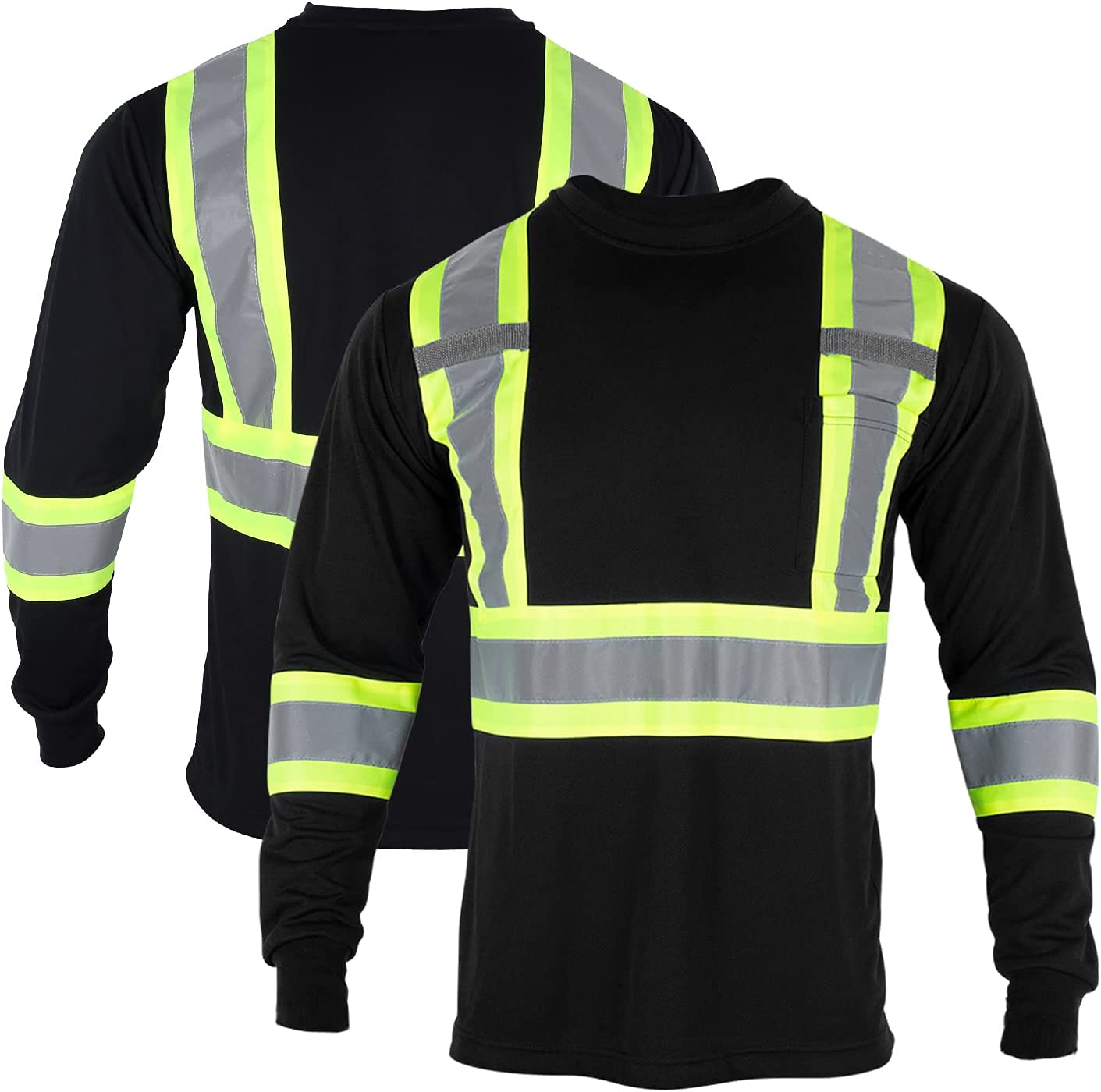 FONIRRA Long Sleeve Safety T Reflective Visibility Bl OFFicial Max 76% OFF High Shirt