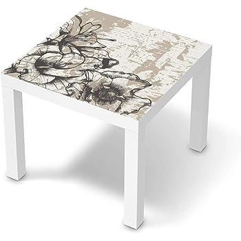 creatisto Möbeltattoo passend für IKEA Lack Tisch 55x55 cm I Möbelaufkleber Möbel Folie Tattoo Sticker I Wohn Deko Ideen für Esszimmer, Wohnzimmer