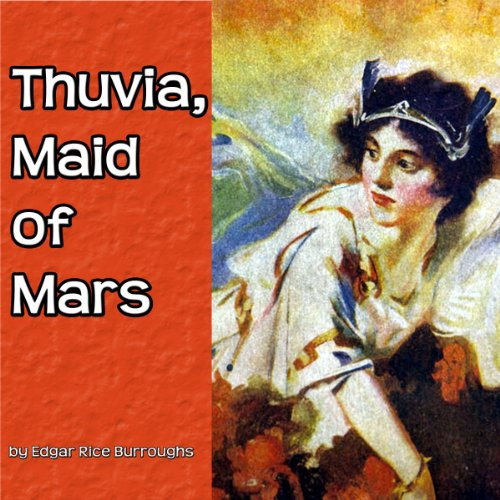 Thuvia, Maid of Mars audiobook cover art