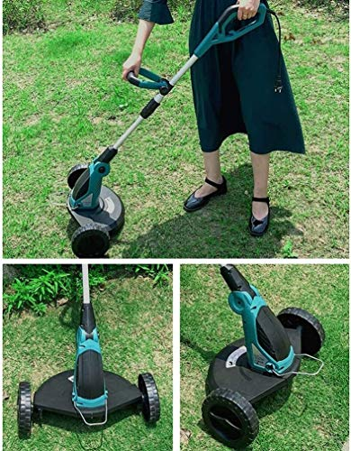 Brushless Lawn Mower,850W Hand-held Telescopic Garden Strimmer Lawn Mower Parks Farms Orchards Weed Cutter Care Tool 1221 (Size : 650W)
