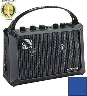 Roland Estéreo con alimentación por batería móvil Cubo Amplificador combinado de guitarra