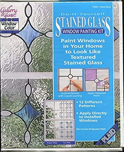 Do It Yourself Stained Glass Window Painting Kit -  15402 by Gallery Glass