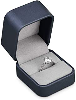 Details about  /Round Box For Engagement Ring Cute Storage Jewelry Case Holder Wedding Accessory