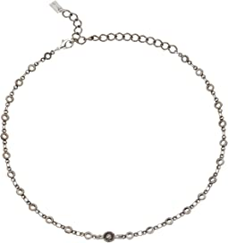 Chan Luu - Open Link Chokers Necklace with Dangle Detail