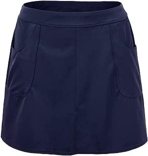 Hilor Women's UPF 50+ Swim Skirt Athletic Skirted Bikini Bottom Swim Bottom Tankinis