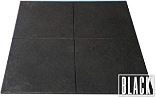 HCE Gym Mat Flooring - Heavy Duty Rubber Mat for Gym Exercise - Premium Slip-Resistant, Shock Absorbent, Solid Rubber Matt...