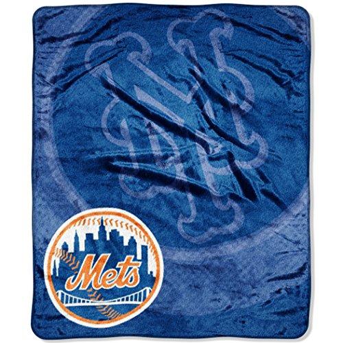 "MLB New York Mets ""Retro"" Raschel Throw Blanket, 50"" x 60"""