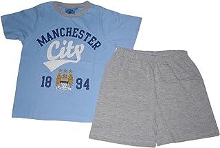 Pijama oficial Manchester City corto 7-16 años