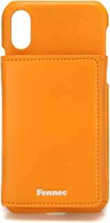 FENNEC Leather Triple Pocket CASE Compatible with iPhone X/XS (FIPC04) (Mandarin)