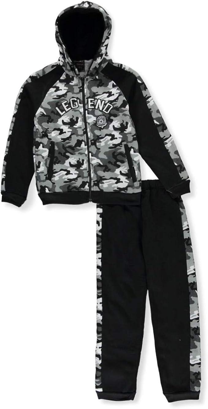 Quad Seven Boys Camo Legend 2-Piece Sweatsuit Outfit