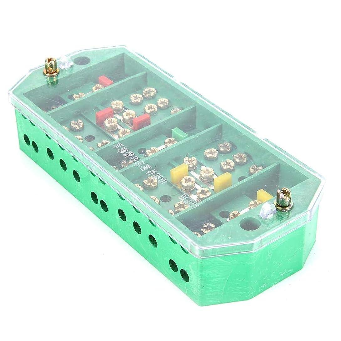 ヨーグルト分割かろうじて透明なQFJ6 / 2080-3端子ボックス、ジャンクションボックス、端子列電気ジャンクションボックスサブステーションメーターボックスメーターボックス用の完全なキャビネット