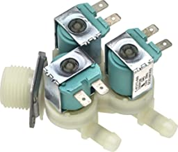 Primeco 34001248 Water Inlet Valve for Whirlpool, Maytag Washer made by OEM Parts Manufacturer, WP34001248, 34001248, DC62-00142D, PS11741549, 1122333, AP6008413-1 YEAR WARRANTY