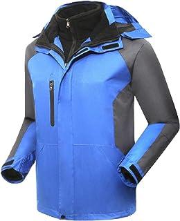 XINHEO Men's Fleece Lined Water-Resistant Hiking Action Jacket 2PC