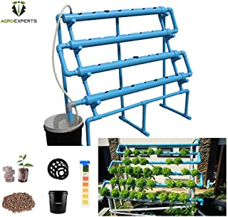 Agro Experts 28 Planter Hydroponic NFT Kit with pH and EC Meter