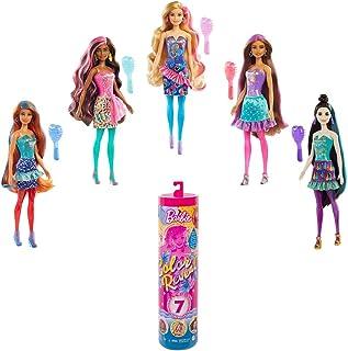 Barbie GTR96 - Color Reveal pop, Party serie met Onthullingseffect, 1 Verrassing pop en nog 7 Verrassingen, Leeftijd 3+