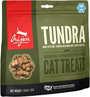 ORIJEN High-Protein, Grain-Free, Premium Quality Meat, Freeze-Dried Cat Treats