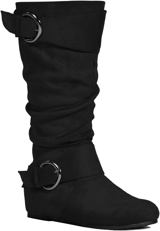 RF ROOM OF FASHION Dublin-01 Women's Sale item Knee Calf Wide Width H Popular standard